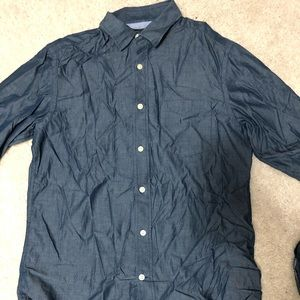 Banana republic slim fit small dressy button down